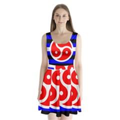 Bdsm Rights Split Back Mini Dress