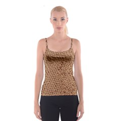 Giraffe pattern animal print  Spaghetti Strap Top