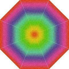 Metallic Rainbow Glitter Texture Folding Umbrellas