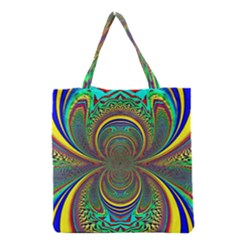 Hot Hot Summer B Grocery Tote Bag