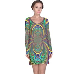 Hot Hot Summer B Long Sleeve Nightdress