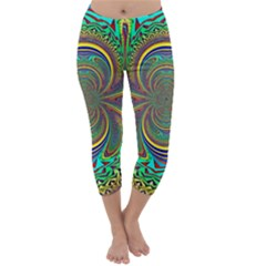 Hot Hot Summer B Capri Winter Leggings