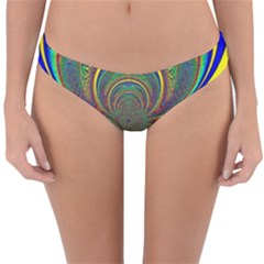 Hot Hot Summer B Reversible Hipster Bikini Bottoms