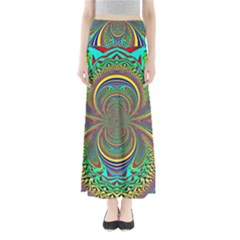 Hot Hot Summer B Full Length Maxi Skirt