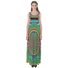 Hot Hot Summer B Empire Waist Maxi Dress