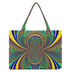 Hot Hot Summer B Medium Zipper Tote Bag