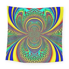 Hot Hot Summer B Square Tapestry (large)