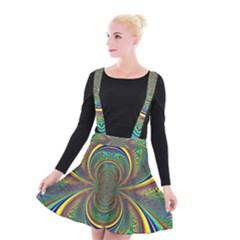 Hot Hot Summer B Suspender Skater Skirt