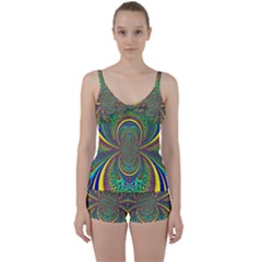 Hot Hot Summer B Tie Front Two Piece Tankini