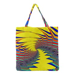 Hot Hot Summer C Grocery Tote Bag