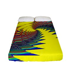 Hot Hot Summer C Fitted Sheet (Full/ Double Size)