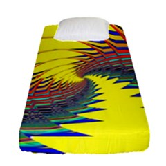 Hot Hot Summer C Fitted Sheet (Single Size)