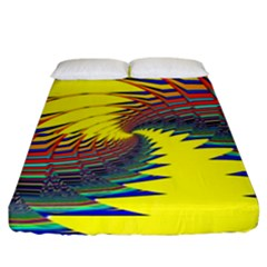 Hot Hot Summer C Fitted Sheet (King Size)