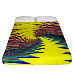 Hot Hot Summer C Fitted Sheet (California King Size)