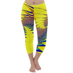 Hot Hot Summer C Capri Winter Leggings