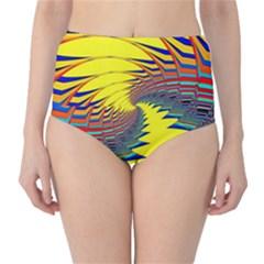 Hot Hot Summer C High-Waist Bikini Bottoms