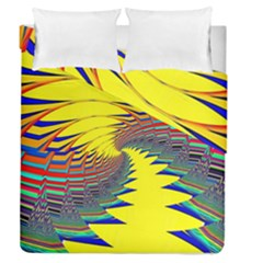 Hot Hot Summer C Duvet Cover Double Side (queen Size)