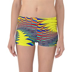 Hot Hot Summer C Reversible Boyleg Bikini Bottoms