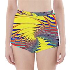 Hot Hot Summer C High-Waisted Bikini Bottoms