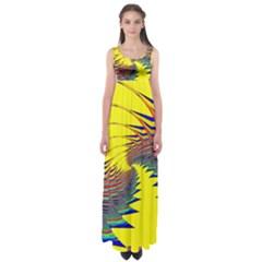 Hot Hot Summer C Empire Waist Maxi Dress