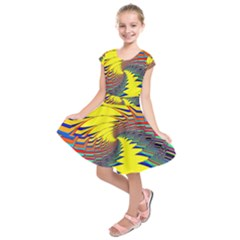 Hot Hot Summer C Kids  Short Sleeve Dress
