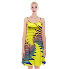 Hot Hot Summer C Spaghetti Strap Velvet Dress