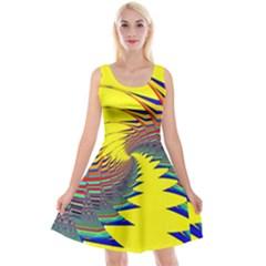 Hot Hot Summer C Reversible Velvet Sleeveless Dress