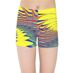 Hot Hot Summer C Kids Sports Shorts