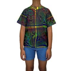 Hot Hot Summer D Kids  Short Sleeve Swimwear