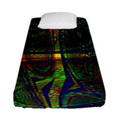 Hot Hot Summer D Fitted Sheet (Single Size)