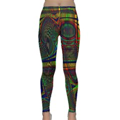 Hot Hot Summer D Classic Yoga Leggings