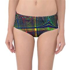 Hot Hot Summer D Mid-Waist Bikini Bottoms