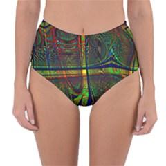 Hot Hot Summer D Reversible High-Waist Bikini Bottoms