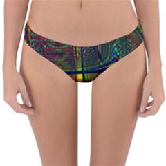 Hot Hot Summer D Reversible Hipster Bikini Bottoms