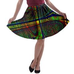 Hot Hot Summer D A-line Skater Skirt