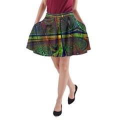 Hot Hot Summer D A-Line Pocket Skirt