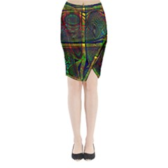 Hot Hot Summer D Midi Wrap Pencil Skirt