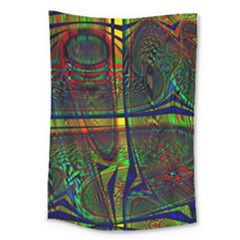 Hot Hot Summer D Large Tapestry