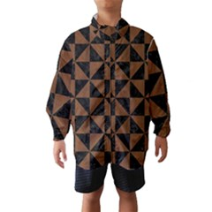 TRI1 BK-MRBL BR-WOOD Wind Breaker (Kids)