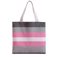 Demigirl Zipper Grocery Tote Bag