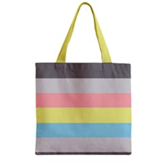 Demiflux Zipper Grocery Tote Bag