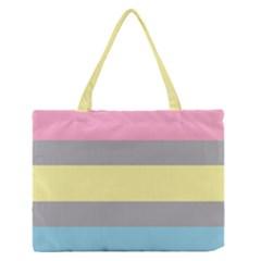 Demifluid Medium Zipper Tote Bag