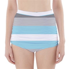 Demiboy High-Waisted Bikini Bottoms