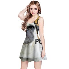 Pug Love W Picture Reversible Sleeveless Dress