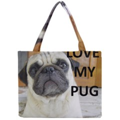 Pug Love W Picture Mini Tote Bag