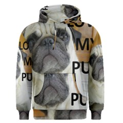 Pug Love W Picture Men s Pullover Hoodie