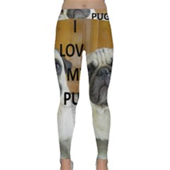 Pug Love W Picture Classic Yoga Leggings
