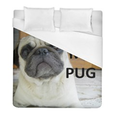 Pug Love W Picture Duvet Cover (Full/ Double Size)
