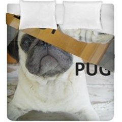 Pug Love W Picture Duvet Cover Double Side (King Size)