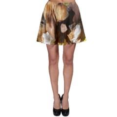 2 Bassets Skater Skirt
